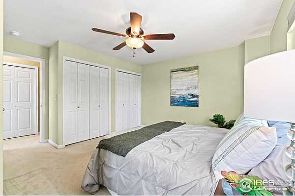 Photo #12 Lots of closet space, soothing and peaceful room