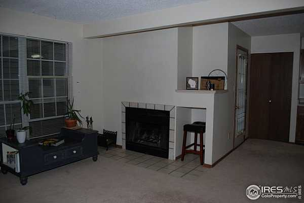 Photo #2 Living Room with Fire Place