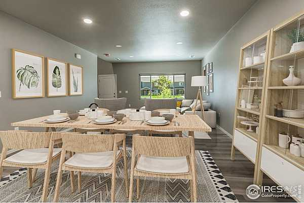 Photo #3 EXAMPLE PHOTO: DINING ROOM & LIVING ROOM
